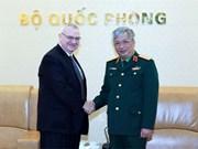 阮志咏上将会见美国东盟商务理事会高级副主席