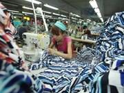 越日两国同意就推动越南纺织服装业发展进行磋商