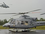 印度尼西亚一架军用直升机坠毁13人遇难