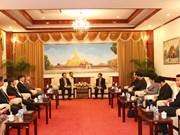 老挝高度评价与越南社会科学翰林院的合作