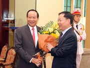 越南和中国加强合作共同打击各类刑事犯罪