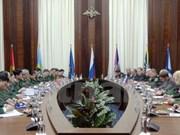 越俄第二次副部长级国防战略对话在莫斯科召开