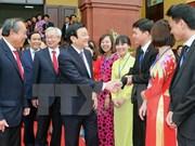越南国家主席张晋创出席法院学院建院决定书发放仪式