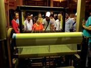2016年越南亚洲丝绸文化节有助于弘扬丝绸纺织业各文化价值