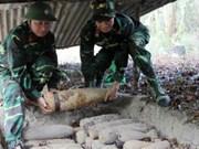 越南全国各省市都遭受炸弹污染