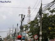 柬埔寨与中国合作扩建柬埔寨农村电网