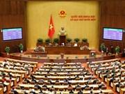 越南第十三届国会第十一次会议:国会审议国会若干领导职位免职名单