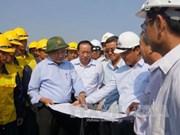 政府副总理阮春福:尽快克服庚桥事故发生后的后果