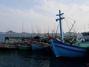 泰国扣留越南渔船和渔民