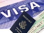 越南将为美国公民签发有效期为一年多次入境的签证