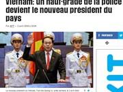 外媒大篇幅报道陈大光当选越南新一任国家主席
