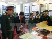 """""""黄沙、长沙归属越南:历史证据和法律依据""""地图资料展在薄辽省举行"""