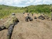 """美国和菲律宾进行""""肩并肩""""联合军演"""