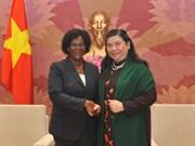 越南和莫桑比克加强议会间合作 促进两国各领域全面发展