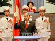 阮春福当选越南政府总理 随即宣誓就职