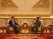 中缅合作维护和促进边疆和平稳定