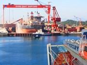 容橘船舶工业公司向Vietsopetro交付一艘多功能驳船