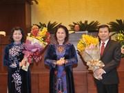 邓氏玉盛当选越南国家副主席