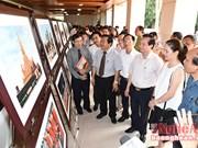 """""""美丽的老挝国度""""图片展在宜安省开幕"""
