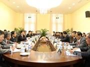 老挝国会主席巴妮·雅陶都会见越南高级代表团
