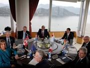 七国集团外长会议强调维护航行自由的重要性