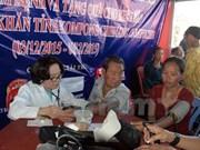 胡志明市为旅柬越侨和柬埔寨贫困群众赠送礼物