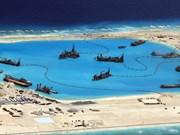 美国:中国在东海非法建设人工岛严重危害生态环境
