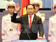 蒙古、哈萨克斯坦等国家领导人致电 祝贺陈大光任越南国家主席