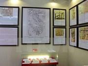 """""""黄沙与长沙归属越南:历史证据与法律依据""""地图资料展在和平省开展"""