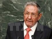 古巴国务委员会主席向越南国家主席和政府总理致贺电