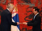 塞尔维亚愿同越南推进多领域合作