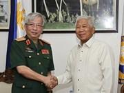 越-菲加强国防合作深化两国战略伙伴关系