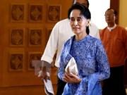 昂山素季强化缅甸全国民主联盟的坚定政策