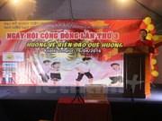 旅居马来西亚越南人举行社团节