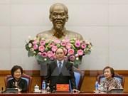 越南政府总理阮春福会见武阿丁助学基金会理事会
