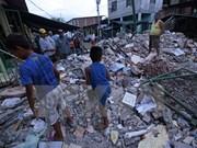 东盟声援遭受地震影响的国家
