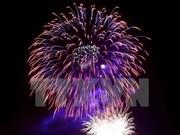 庆祝南方完全解放国家统一41周年:胡志明市将在四处地点燃放烟花