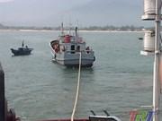 越南成功解救在承天顺化省海域遇险的一艘中国渔船
