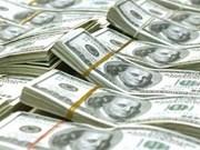越南国家银行越盾兑美元中心汇率较前一日上涨10越盾