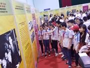 越南文化历史资料图片展在太原省举行