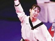 2016年第四届亚洲跆拳道品势锦标赛:越南队获得对抗赛项铜牌