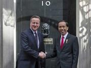 印尼与英国企业加强合作