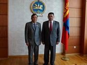 越南国会与蒙古议会加强合作