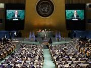 越南代表出席气候变化巴黎协定高级别签署仪式