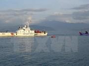 越中北部湾湾口外海域共同考察正式结束