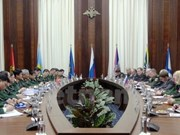 在全面战略伙伴关系框架内进一步加强越俄防务关系