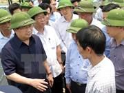 郑廷勇副总理责成有关部门尽早确定河静省鱼类大量死亡的原因