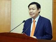 越南政府副总理王廷惠:制定安全风险评估工具 健全金融市场监测机制