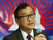 柬埔寨法院再次向反对党救国党领袖桑兰西发出传票