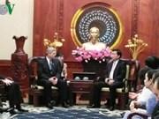 胡志明市与美国促进农业领域的合作